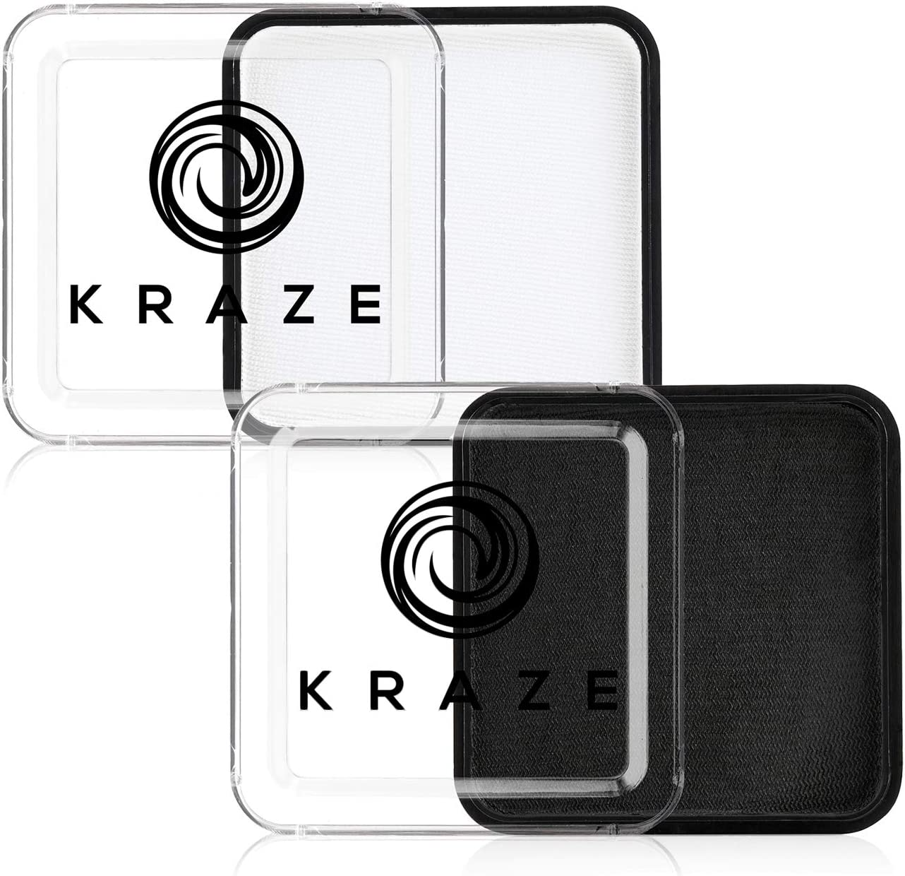 Kraze FX Black and White Face Hypoallergenic - Paint Kansas City Mall Super sale period limited Non-To Set