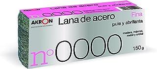 LANA DE ACERO FINA NO. 0000 BOBINA 150 GR