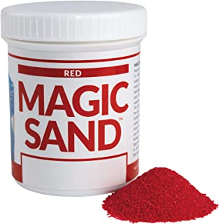 Steve Spangler Science Magic Sand, 227g, Red – Colored Play Sand That Never Gets Wet, Exciting STEM Activity, Learn and Te...