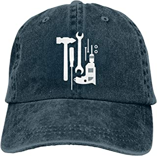 Craftsmans Tools Men's/Women's Adjustable Vintage Jeans Baseball Cap Dad Hat