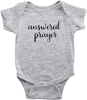 Answered Prayer Bodysuit for Baby Girl or Boy