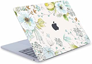 Digi-Tatoo Elegant Flower MacBook Skin Decal Cover Compatible with MacBook Air 13 inch (Model A1369/A1466 Before 2018), Full Body Protective, Removable and Anti-Scracth Laptop Vinyl Skin