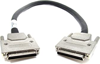 HP 412478-001 SCSI Interface Cable with thumbscrews on Both Ends - 68-pin Very high Density (M) to 68-pin Very high Densit...