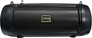 Gigamax GM303 Portable Bluetooth Speaker System Mobile Stand, USB Port, AUX 3.5mm input jack, TF Micro Card SD - Black