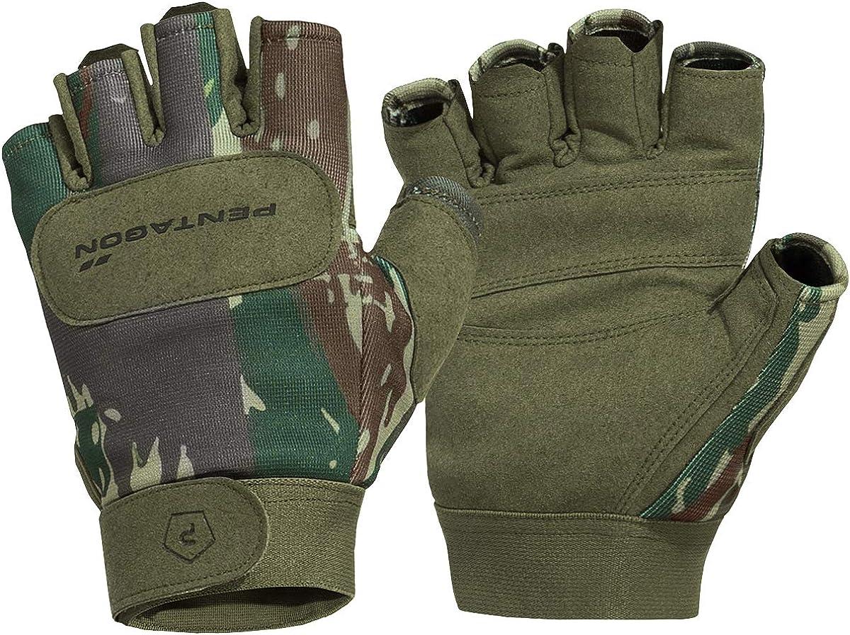 Pentagon Men's 1 2 Bombing new work Duty Mechanic Greek Genuine Lizard Gloves