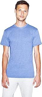 American Apparel Men's 50/50 Crewneck Short Sleeve T-Shirt, 2-Pack