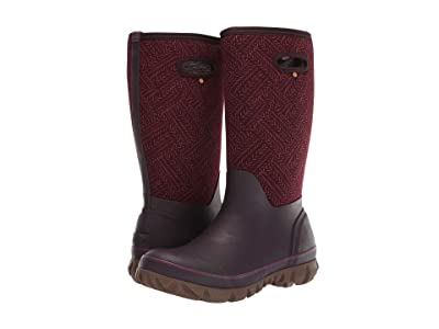 Bogs Whiteout Fleck (Grape) Women
