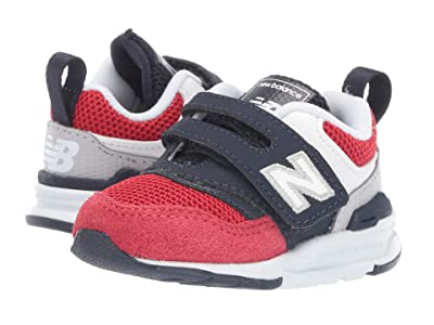 New Balance Kids IZ997Hv1 (Infant/Toddler) (Pigment/Team Red) Boys Shoes