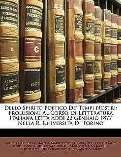 Best Dello Spirito Poetico De