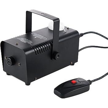 CO-Z Heavy Duty Fog Smoke Effect Generator Machine, Stage Haze Atmosphere Maker Equipment 400W w/Remote Control for Halloween Christmas Wedding Party Light Effect