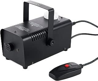 CO-Z 重型*雾效果发生器机械,舞台危险氛围制造设备 400W 带遥控,适用于万圣节圣诞节婚礼剧院派对俱乐部 DJ 灯光效果