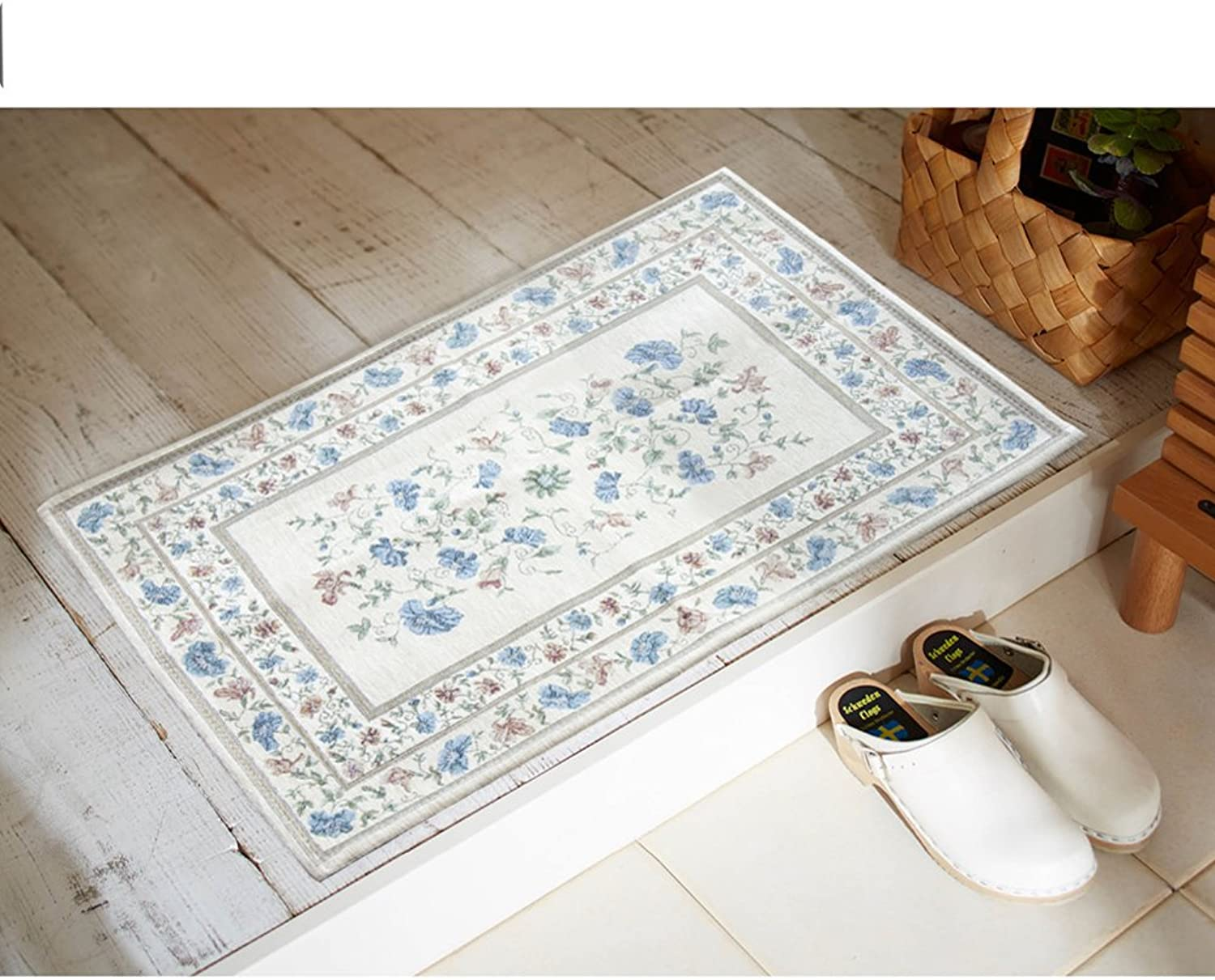 Doormat Europe and America,Style,[Knitting],[Series],Pattern,Living Room,[Study],Bedroom mats-K 80x120cm(31x47inch)