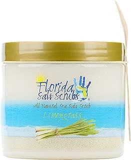 Florida Salt Scrubs, 24.2 Ounce, Lemongrass