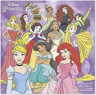 2020 Disney Princess Wall Calendar (DDD2892820)
