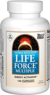 Source Naturals Life Force Multiple Iron Free Daily Multivitamin High Potency Essential Vitamins, Minerals, Antioxidants &...