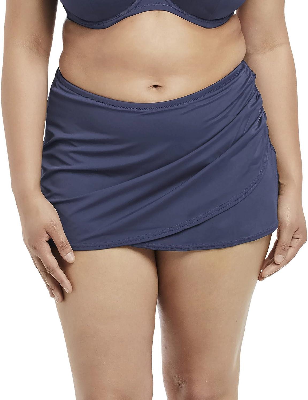 Elomi Women's Essentials Wrap Skirted Brief Swim Bottom ES7619