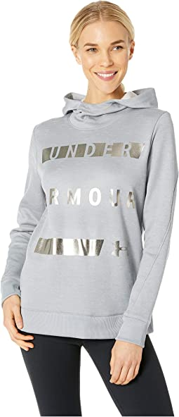Synthetic Fleece Pullover Wordmark