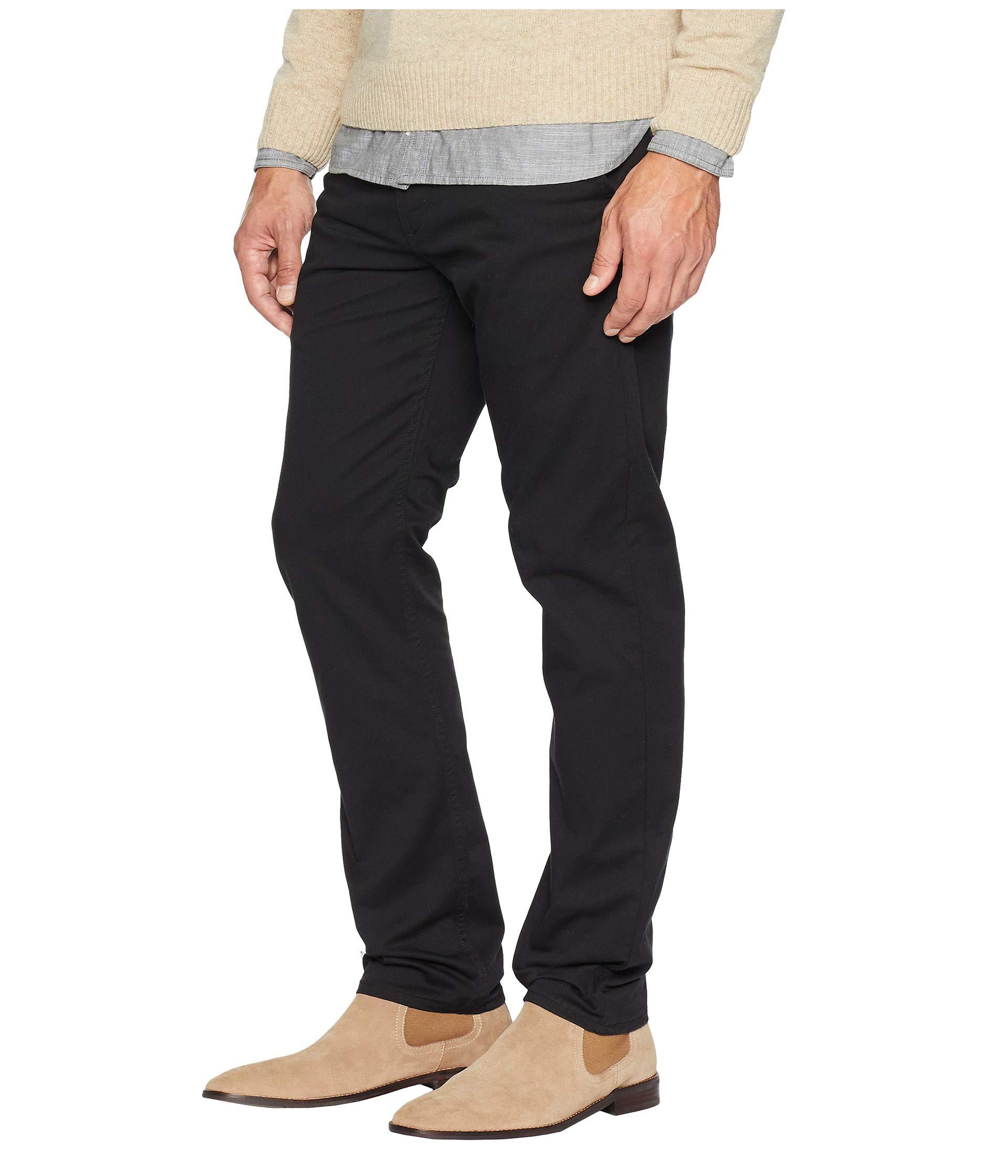 Chino 502™ Black Levi's® Tapered Twill Mens Regular Stretch AT7pqRPn