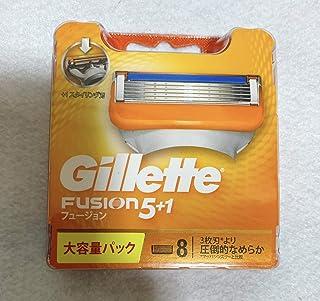 日本市場で強力 ジレットフュージョン5 + 1スペアブレード8Bx3個セット
