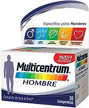 Multicentrum Hombre Complemento Alimenticio con 13 Vitaminas y 11 Minerales, Con Vitamina B1, Vitamina B6, Vitamina B12, Hierro, Vitamina D, Vitamina C, 30 Comprimidos