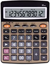 $37 » Bdesign Calculator, Standard Function Desktop Basic Calculator with 12-Digit Large-Size LCD Display, Office Calculator wit...