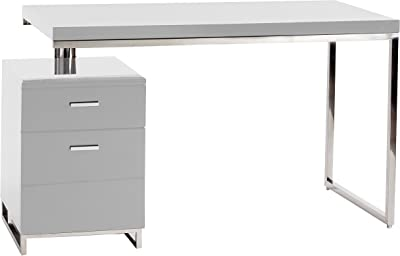 Moes Home Collection Martos Office Desk, White