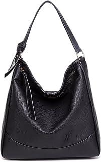 Miss Lulu Hobo Shoulder Bags Handbags for Women Soft PU Leather Ladies Tote Bag