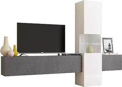 Amazon.com: Mueble de mesa y alfombras Milano 200 moderno de ...