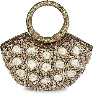 Indische Ethnische Clutch-Seide Potli Batwa Tasche mit Perlen Geschenk für Frauen