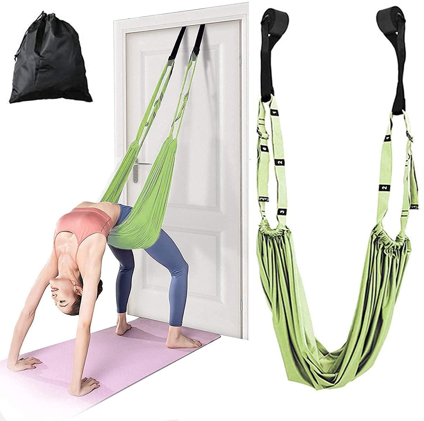 Kresal Yoga Rope Indoor Load Aerial Yoga Set Decompression Hammock ...