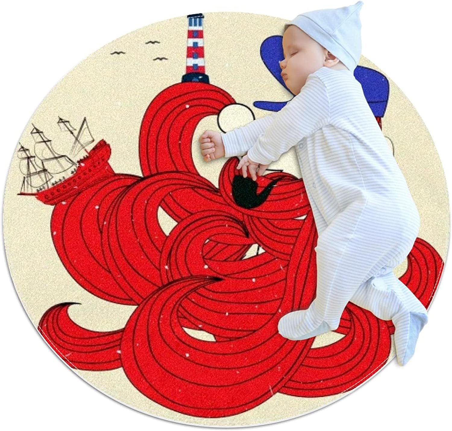 Sailor It is very popular icon Man Hair Kids Ranking TOP15 Crawling Mat Polyester Play Soft