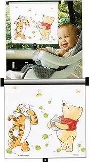 Disney Baby Sincerely Pooh Adjust and Lock Car Window Sunshade