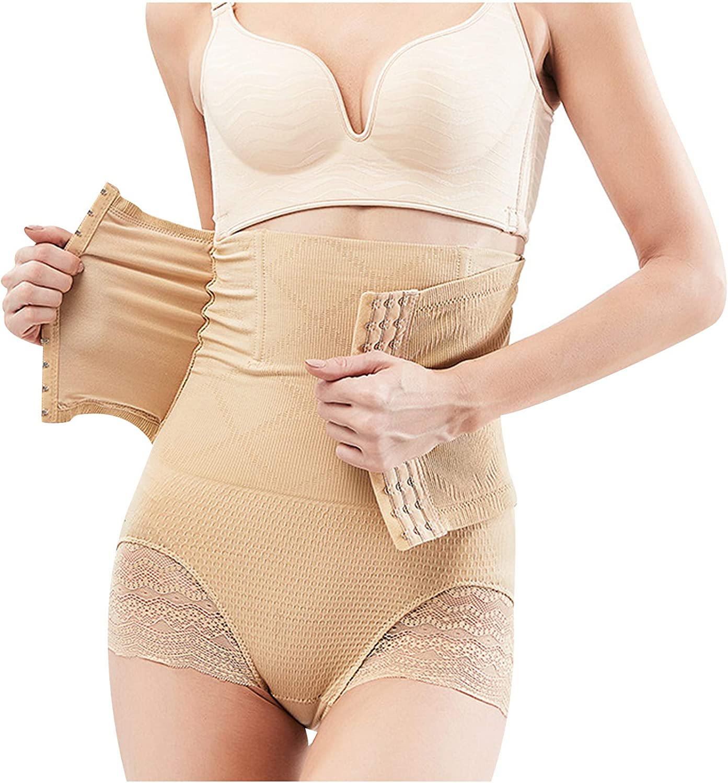 Sinzelimin Women Sports Corset Shapewear Tummy Control-Butt Lifter High Waisted Shaper Shorts