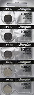 Energizer CR1220 Low Drain 3V lithuim Battery (pack of 5)