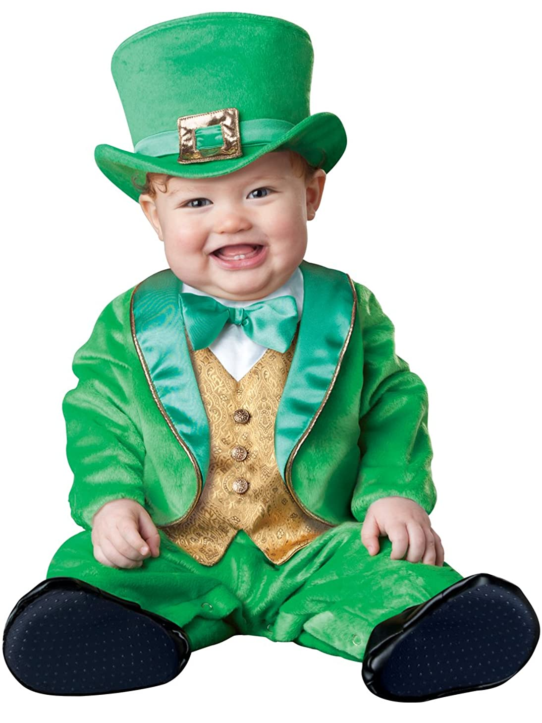 InCharacter Lil' Leprechaun Infant/Toddler Costume-Large (18-2T) Green