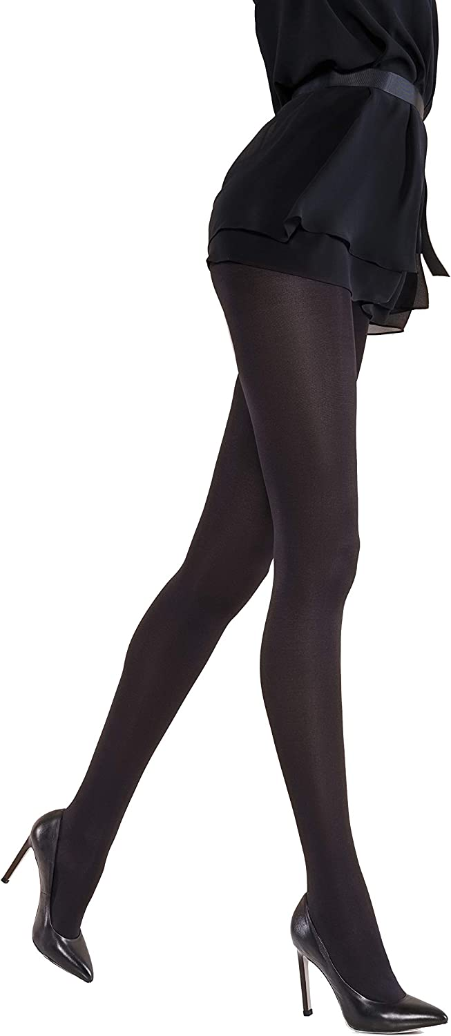 BestSockDrawer ECOCARE Black 70 DEN Sustainable Ladies Tights with Perfect fit