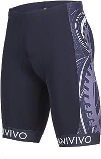 ANIVIVO Mens Cycling Shorts Padding Bike Shorts Men Italian Imported Non-Slip Belt,Bike Shorts