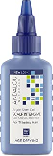 Andalou Naturals Argan Stem Cell Age Defying Scalp Intensive for Thinning Hair, 2.1 Ounces