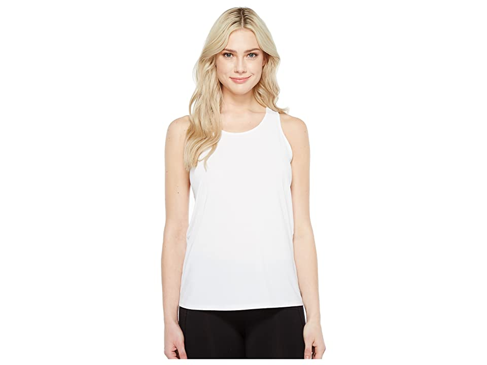 Ivanka Trump Performance Racerback Tank Top (White) Women