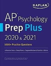 AP Psychology Prep Plus 2020 & 2021: 6 Practice Tests + Study Plans + Targeted Review & Practice + Online (Kaplan Test Prep)