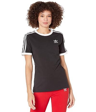 adidas Originals 3-Stripes Tee (Black 2) Women