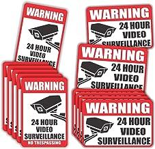 Video Surveillance Sticker - (Pack of 20) 4