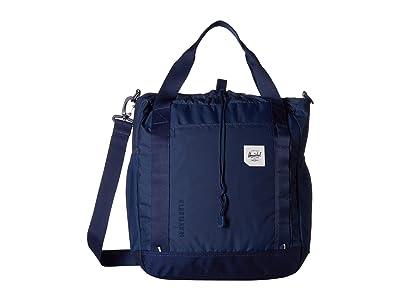 Herschel Supply Co. Barnes (Medieval Blue) Tote Handbags