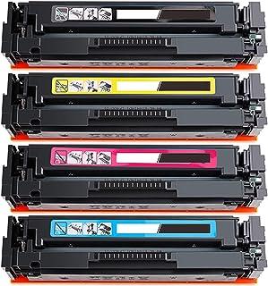 متوافقة مع اتش بي 205a Cf530a Cf531a Cf532a Cf533a خرطوشة حبر بديلة ل Hp Color Laserjet Pro M154a M154nw M180n M181fw مع م...