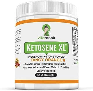 Ketosene XL™ 30 Servings Extra Large Exogenous Ketones Powder - Kickstart Ketosis Within 1-Hour with a Pure Blend of Calcium and Magnesium Ketone BHB Salts (KetoVantage BHB) - for Keto Diet Bulk