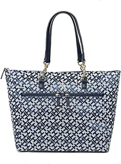Tommy Hilfiger Bolsa Tote Azul Marino Bolsa para Mujer Azul Talla Unitalla