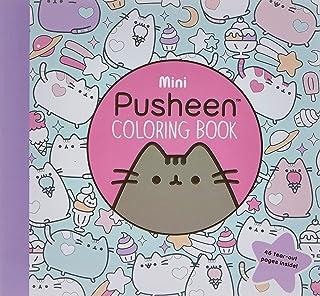 Mini Pusheen Coloring Book