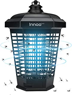 Innoo Tech Bug Zapper, Mosquito Killer Electric 4200V Weatherproof Insect Fly Pest Attractant Trap, Intelligent Light Cont...