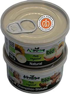 Vegan & Bio Onion and Shiitake Pate Variety 2 Packs | Gluten-Free | Organic farming