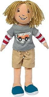 boy doll yarn hair